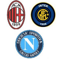 champions league, napoli, milan, inter