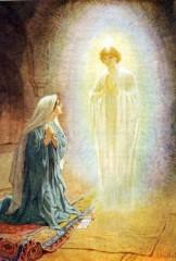 annunciazione, angelo, vergine maria, gesù cristo, dio, signore,