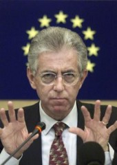 monti, italia, governo, crisi